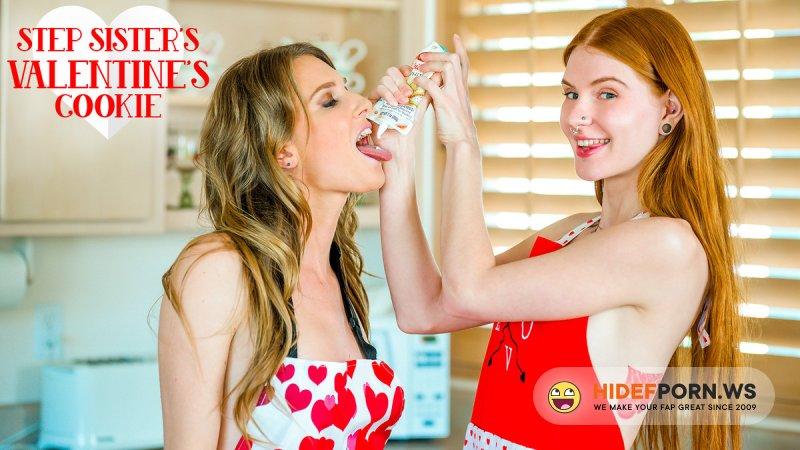 Brattysis - Ashley Lane, Jane Rogers - Step Sisters Valentines Cookie [FullHD 1080p]