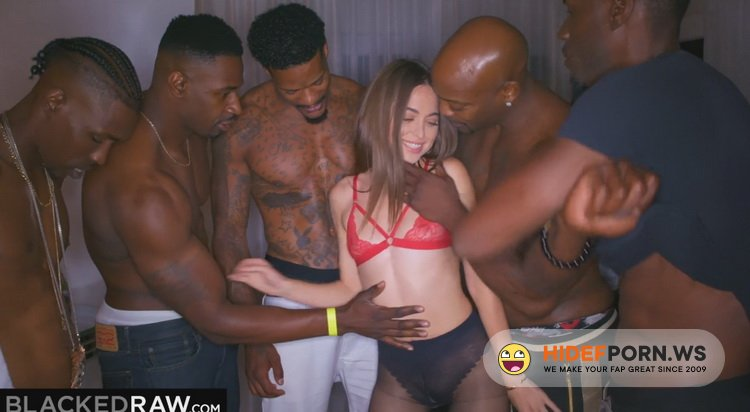 BlackedRaw - Riley Reid - Girlfriend got Gangbanged at the after Party [FullHD 1080p]