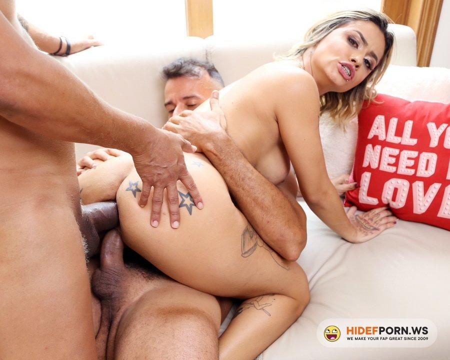 AnalVids.com, LegalPorno.com - Isabela Pimienta - Isabela Pimienta Assfucked In Hardcore Threesome With DP, DAP And DVP YE072