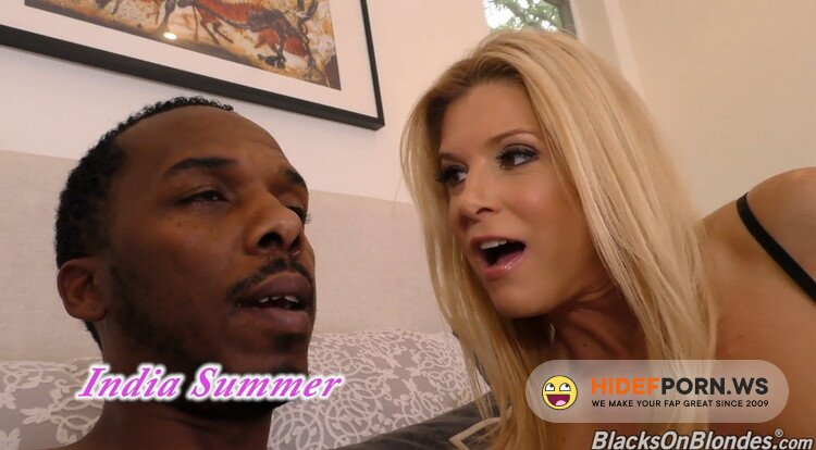 DogfartNetwork - India Summer - Blonde Cougar India Summer has Threesome Sex with BBC [FullHD 1080p]