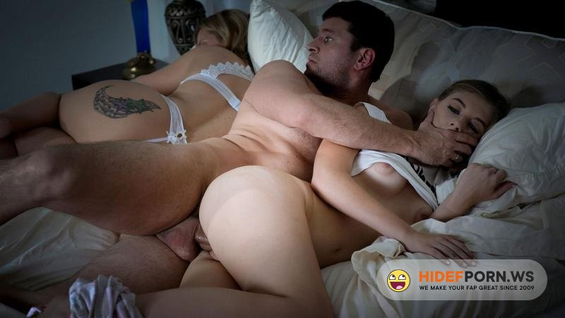 Amateurporn.cс - Alyce Anderson - Fuck StepDaughter Before Wife Sleep [SD 540p]