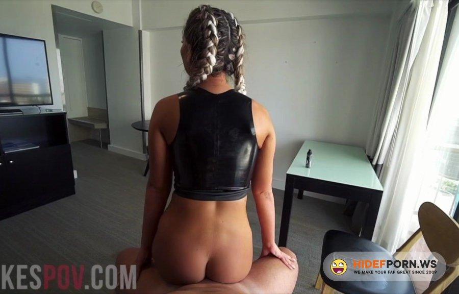 LukesPOV - Nina Milano - Titty Fucks And Gets Covered In Cum [2021/FullHD]