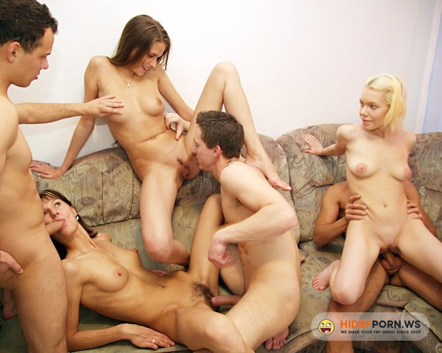 Amateurporn.cc - Amateur - Students Orgy [HD 720p]