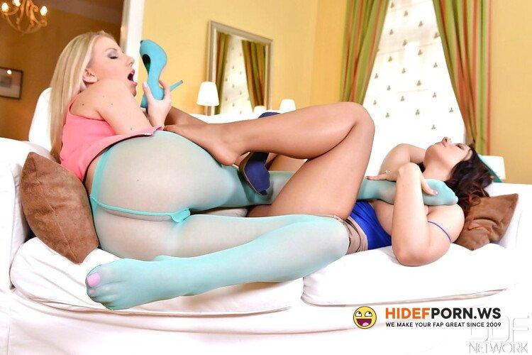 HotLegsAndFeet.com/DDFProd.com - Kyra Hot, Danielle Maye - Give Us A Lick Ladies [FullHD 1080p]