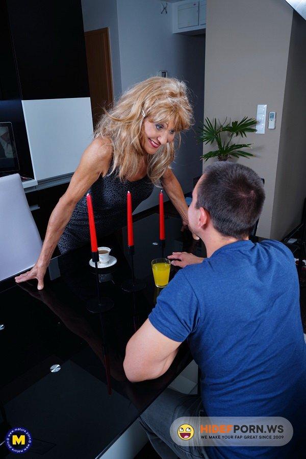 Mature.nl/Mature.eu - Szilvia M. (56) - Naughty housewife doing her toyboy [FullHD 1080p]