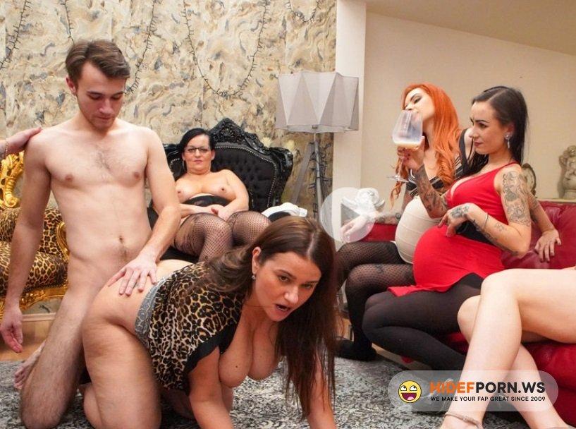 PregnantKink.com - Yvette, Inna, Nikki Dream, Lora, Jarushka Ross, Nicole Love, Mata Tato, Peter Stallion - Pregnant Orgy [FullHD 1080p]