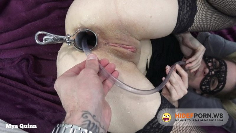 Porn.com - Mya Quinn - Drinking anal piss with speculum - anal pissing ass licking [HD 720p]