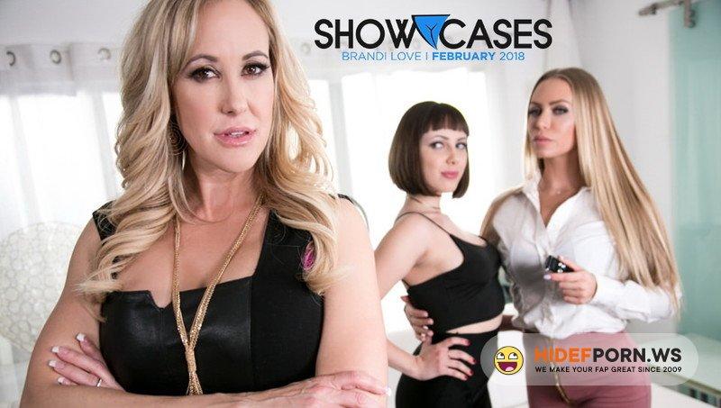 GirlsWay.com - Brandi Love, Jenna Sativa, Nicole Aniston - Showcases: Brandi Love - 2 Scenes In 1 [FullHD 1080p]