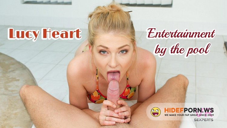 VRSexperts - Lucy Heart - Entertainment By The Pool [UltraHD/2K 1920p]