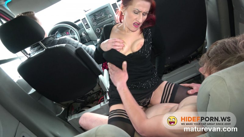 MatureVan - Emily Devine - Fuck An Old Lady In A Van [FullHD 1080p]