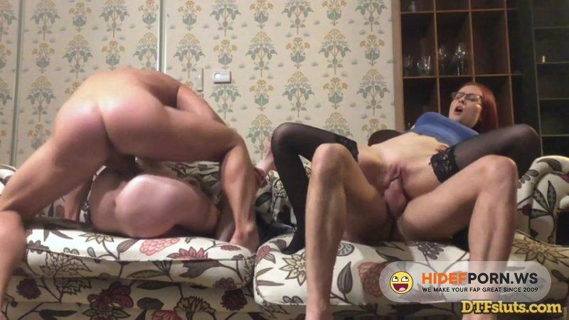 DTFSluts - Sofi Lucky, Olga Olya - Best Friends Share Their Boyfriend'S Cocks [SD 480p]