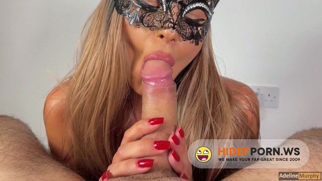 PornhubPremium - Adeline Murphy - Adeline Murphy Does A Close-Up Blowjob And Receives An Oral Creampie [2021/HD]