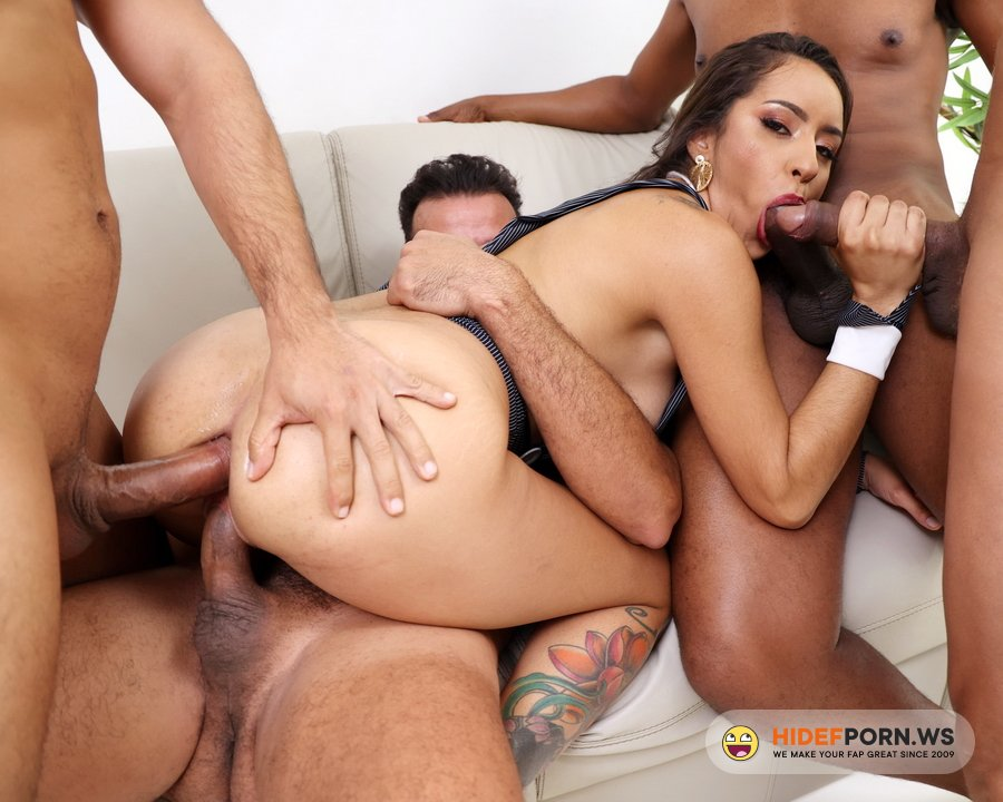 AnalVids.com, LegalPorno.com - Sandy Cortez - Horny Piss Drinker Sandy Cortez Gets Fisted And Fucked With DP, DAP And Double Pussy YE088