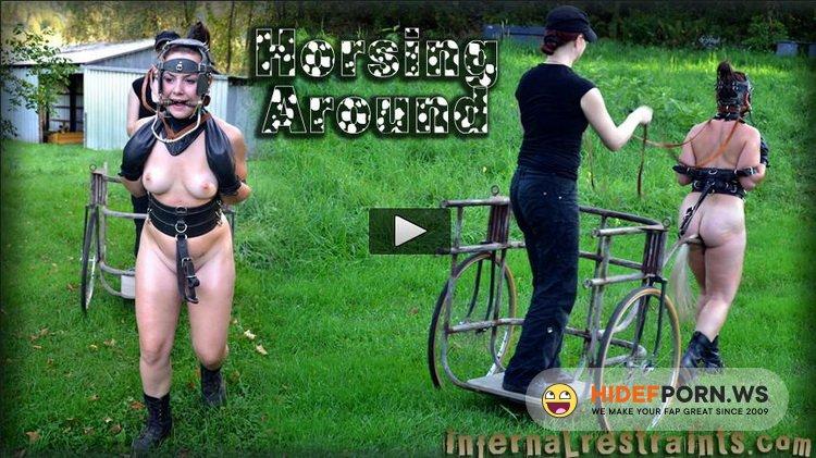 InfernalRestraints.com - Sasha, Claire Adams - Horsing Around [HD 720p]