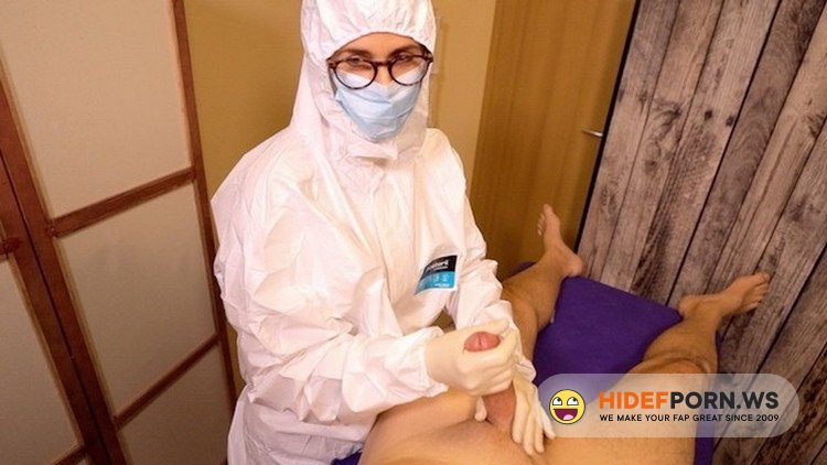 Porn.com - German Sex - Sperm Sample extracted by Real Nurse in Sperm Bank [FullHD 1080p]