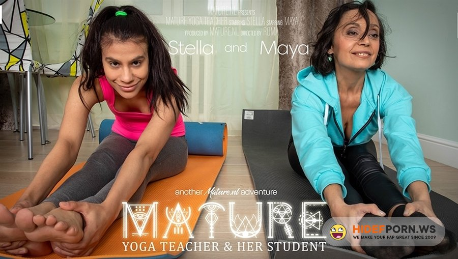 Mature - Malya 23, Stella 51 - Mature Yoga Teacher Has A Special Lesson For Her Lesbian Student [2020/FullHD]