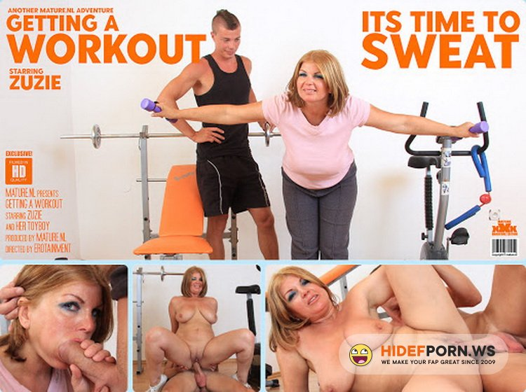 Mature.nl/Mature.eu - Zuzie (45) - This curvy MILF gets a special workout from her toy boy instructor [FullHD 1080p]