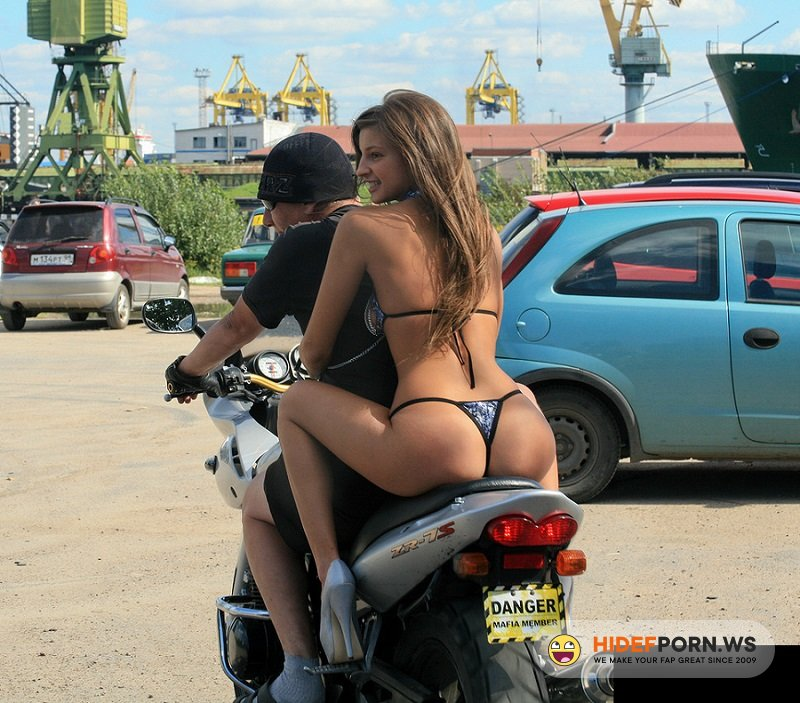 PlayBoy.com - Melana - Nude Girl On Bike [HD 720p]