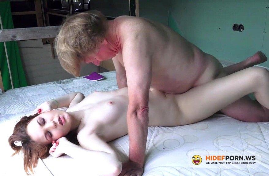 BeautyAndTheSenior.com - Alegra - Fuck With Old Man [HD 720p]