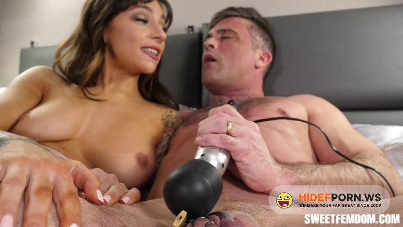 SweetFemdom - April Olsen, Lance Hart - April Fucks Lance in Chastity Part 4 [HD 720p]