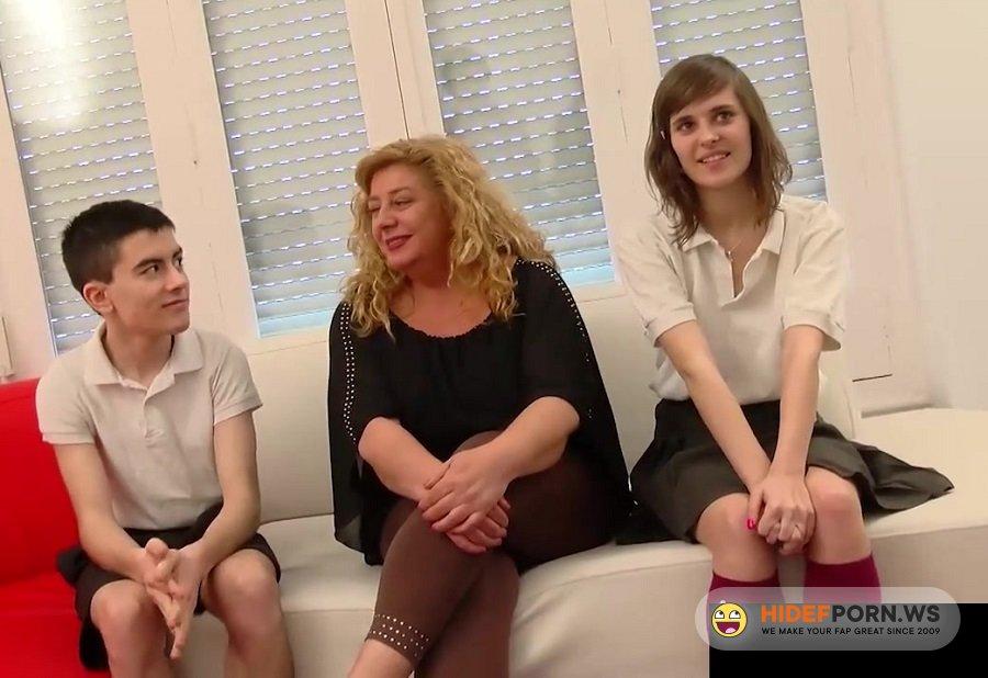 Amateurporn.com - Ainara - Threesome With Teacher [HD 720p]