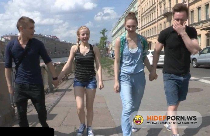 Amateurporn.cc - Molly, Emma - Russian Group Teen Fuck [HD 720p]
