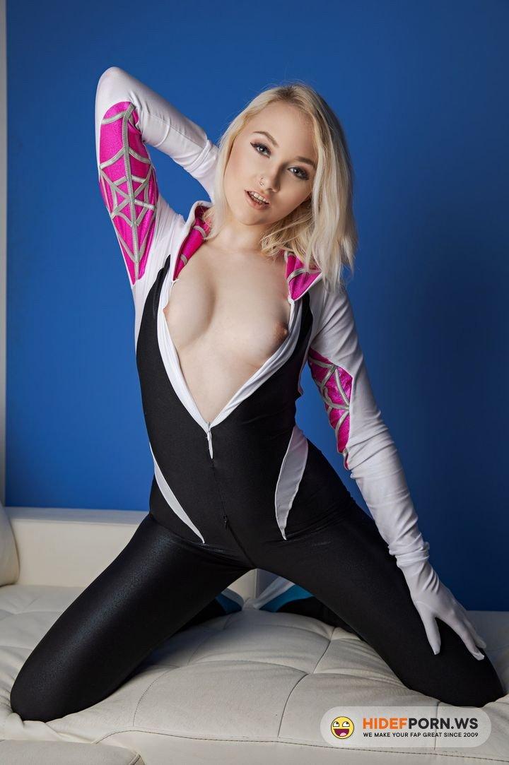 Vrcosplayx.com - Marilyn Sugar - SPIDER GWEN A XXX PARODY [UltraHD 2K 1440p]