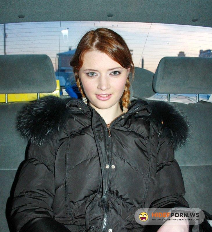 PickupGirls.com - Anna - Pigtails Russian Girl Fuck [HD 720p]
