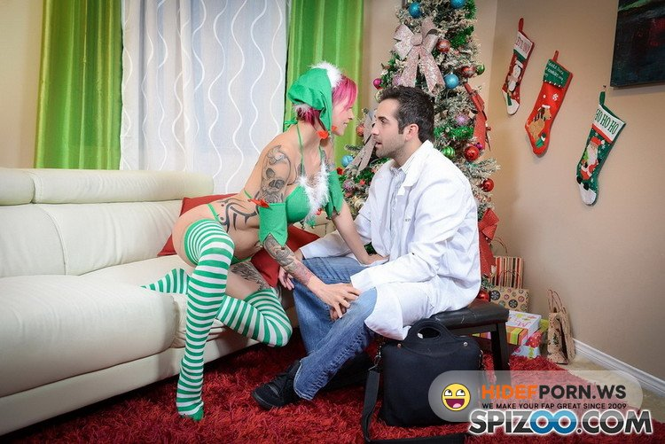 Spizoo.com - Anna Bell Peaks - Anna Bell Peaks Crazy Christmas [FullHD 1080p]