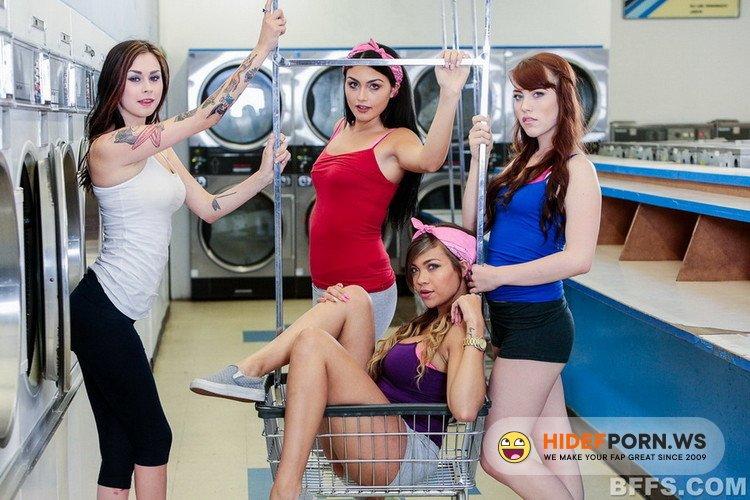 BFFS.com - Cassidy Banks, Kylie Sinner, Vera Drake - Laundry Day [FullHD 1080p]