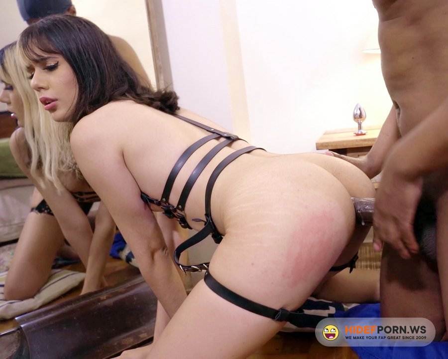 AnalVids.com, LegalPorno.com - Azukat - White Brazilian E-Girl Teen Azukat In Painful Anal And Dominated By Thick BBC (0 Percent Pussy, IR, Spit, Ahegao, Farting) OB004