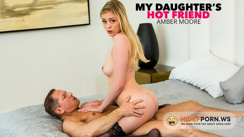 MyDaughtersHotFriend - Amber Moore - Loves Older Men And Their Cocks [SD 480p]