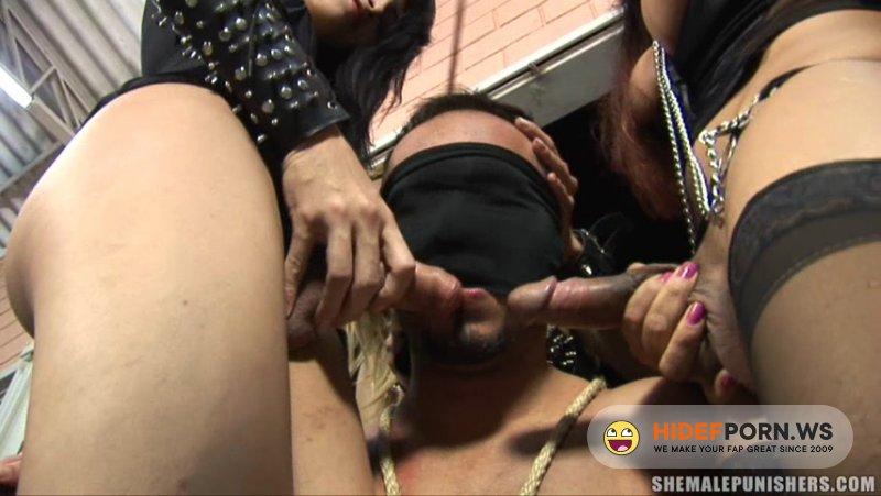 ShemalePunishers - Karol, Tatiane, Sandy - Session of pain with three dommes [HD 720p]