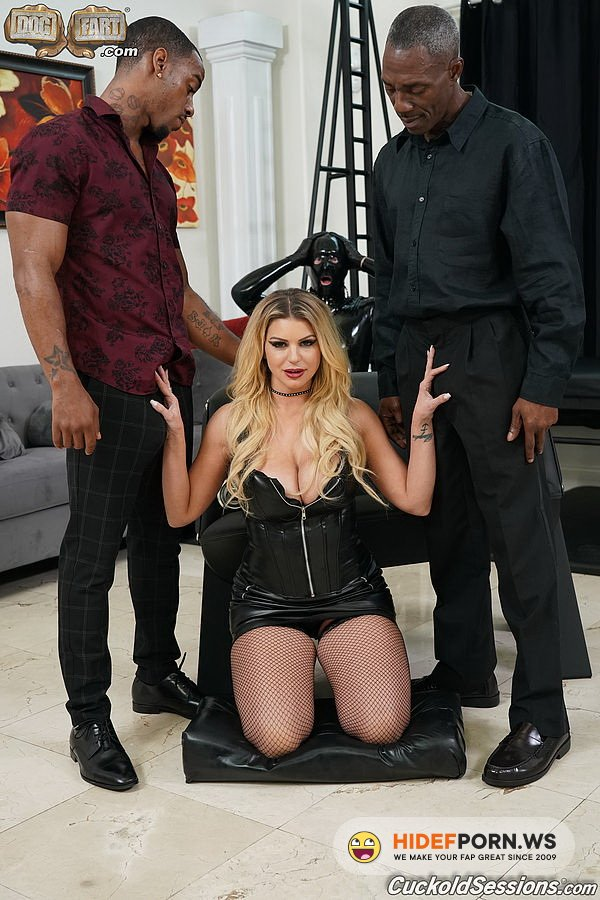 CuckoldSessions.com/DogFartNetwork.com - Brooklyn Chase - Two Big Black Cock [FullHD 1080p]
