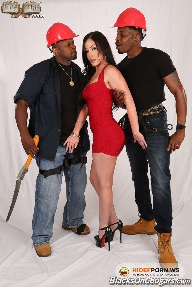 BlacksOnCougars.com/DogFartNetwork.com - Jennifer White - Two Big Black Cock [FullHD 1080p]