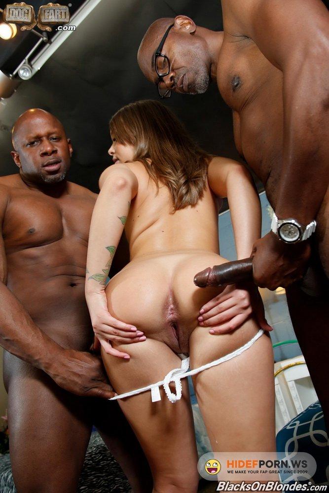BlacksOnBlondes.com/DogFartNetwork.com - Liza Rowe - Hardcore [HD 720p]
