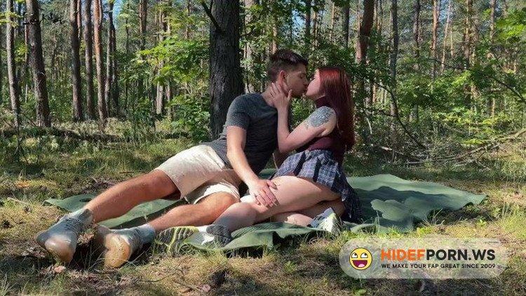 Onlyfans.com - Leo Kleo - Public amateur couple sex on a picnic in the park [FullHD 1080p]