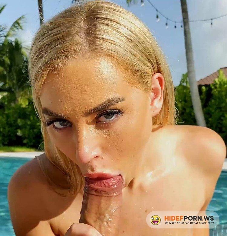 MACSPOV/PornhubPremium.com - Blake Blossom - Hot Blonde Neighbor Blake Blossom Comes Over for a Dip in the Pool and Some Dick! [FullHD 1080p]