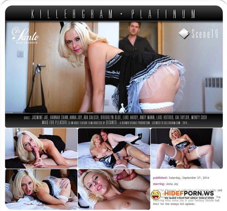 DaringSex.com/KillerGram.com - Anna Joy - Maid for Pleasure Scene 19 [FullHD 1080p]