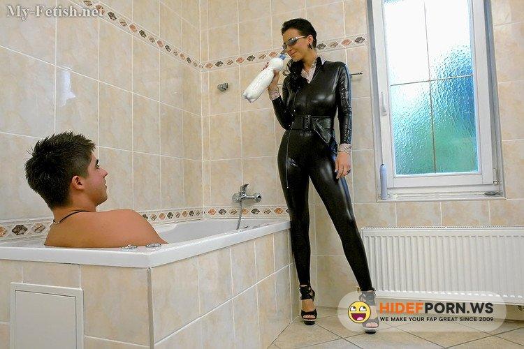 My-Fetish.net/Orgymax.com - Adriana - Milk Bath [FullHD 1080p]
