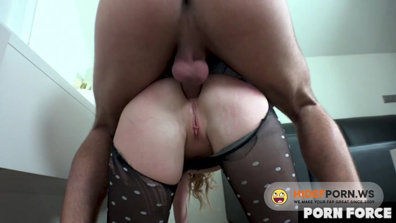 PornForce - Liza Billberry - Horny Slut Ass Fucked Rough In The Doctor'S Waiting Room [SD 480p]