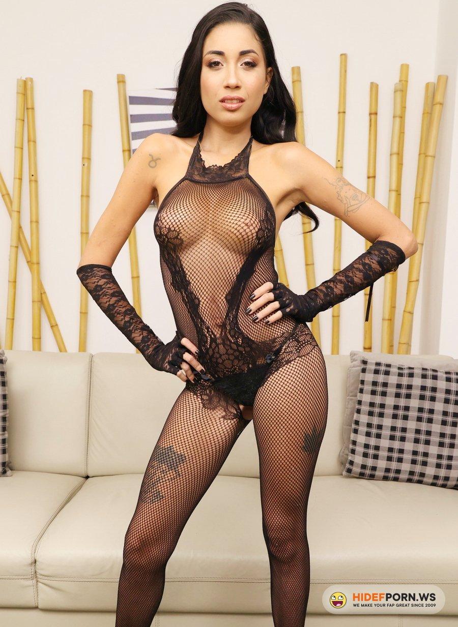 AnalVids.com, LegalPorno.com - Eva Perez - Young Brazilian Hottie Eva Perez Assfucked In Threesome With Her First DP YE120 [UltraHD 4K]