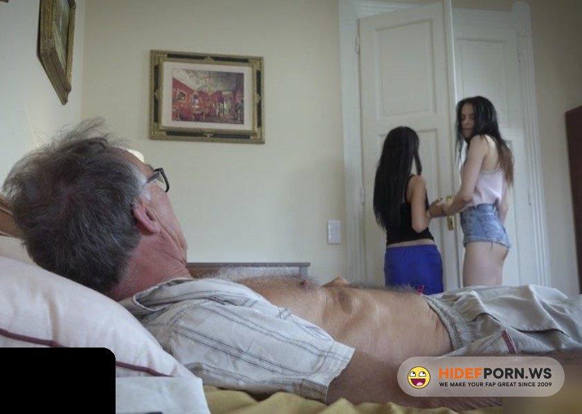 BeautyAndTheSenior.com - Vera, Mary - Two Teen Fuck Old Man [FullHD 1080p]