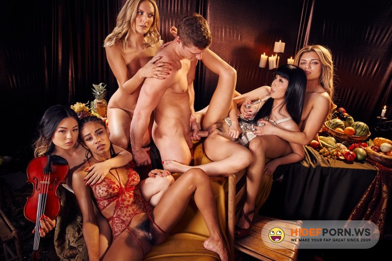 Private.com - Mona Wales, Lulu Chu, Scarlit Scandal, Destiny Cruz, Marica Hase - One Man Fuck Many Hot Girls [SD 480p]