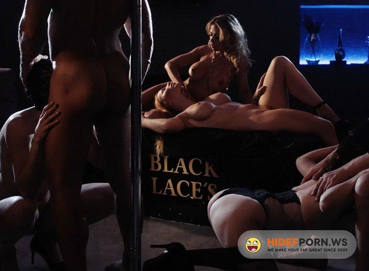SinfulRaw.com - Kiara Lord, Shalina Devine, Anna de Ville, Blanche Bradburry, Daphne Klyde - My Sinful Orgy, part 2 [FullHD 1080p]