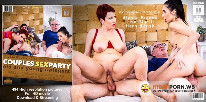 Mature.nl/Mature.eu - Alyssa Bounty (21), Hans (60), Josh (29)  Lisa Pinelli (45) - Old and young swingers have a couples sexparty [FullHD 1080p]
