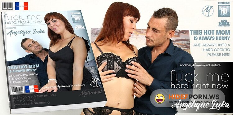 Mature.nl - Angelique Luka (EU) (31) - Hot mom fooling around with the cock from her lover [FullHD 1080p]