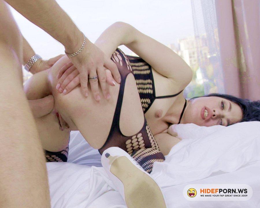 AnalVids.com, LegalPorno.com - Milena Briz - Big Dick Crush Milenas Butt With Gapes, Balls Deep Ass And Cum In Mouth