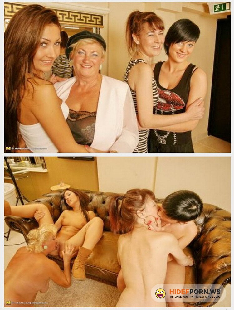 Old-and-Young-Lesbians.com/Mature.nl - Magdalena K., Petra K., Lolita , Ashly - Hardcore [HD 720p]