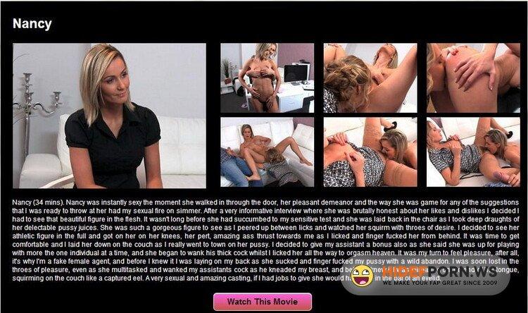 FemaleAgent.com/Casting.xxx - Nancy, Sharon Star - E162 [HD 720p]